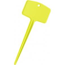 Jmenovka zapichovací Green Basics M - lime green 18 x 7 cm (5ks)