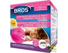 Bros - el. odpařovač pro děti proti komárům + 10 polštářků