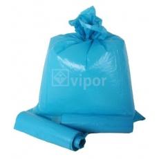Pytel LDPE 70x110cm T80 modrý 15ks/role