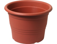 Květináč Cilindro / Premium - terakota 16 cm