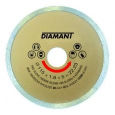 Kotouč diamantový DIAMANT 115x22. 2x2mm plný
