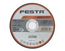 Kot. řezný kov 125x1. 6x22. 2 FESTA INDUSTR
