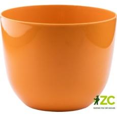 Obal Fialka - oranžový 13 cm