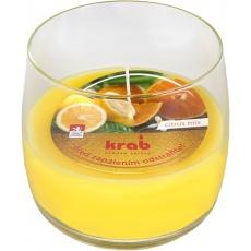 Svíčka sklo - aroma citrus mix 125 g