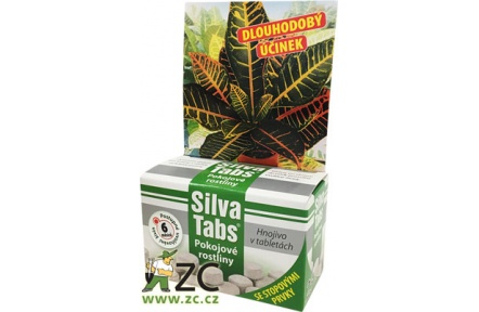 SilvaTabs - tablety na pokojové rostliny 25 ks