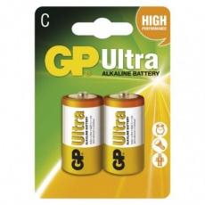 Alkalická baterie GP Ultra C (LR14) - 2ks