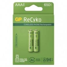 Nabíjecí baterie GP ReCyko Cordless AAA (HR03) - 2ks