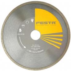 Kotouč diamantový FESTA plný 180x25. 4mm