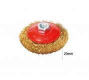 Kartáč rot.  miskový FESTA 125 20mm