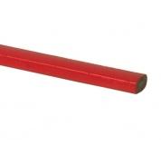Tužka tesařská (červený lak) 250mm