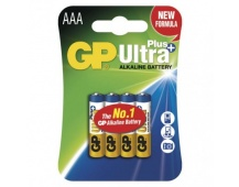 Alkalická baterie GP Ultra Plus AAA (LR03) - 4ks