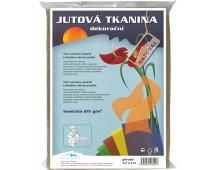 Jutová tkanina - 1,3 x 1 m přírodní
