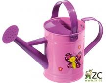 Dětská konvička kovová růžová Stocker