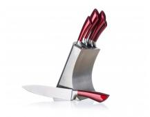 BANQUET Sada nožů INTENSE, 5 ks a nerezový stojan