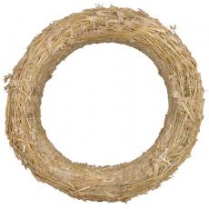 Kroužek slaměný - 40 cm