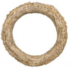 Kroužek slaměný - 25 cm