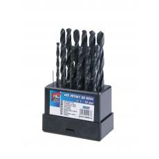 Sada HSS vrtáků 1-10mm (po 0. 5mm) 19ks plast