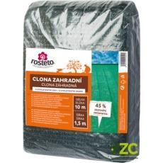Clona zahradní 45% Rosteto - 10 x 1,5 m zelená