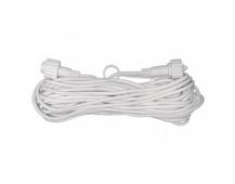 Prodlužovací kabel pro spojovací řetězy Profi, 10m, bílý