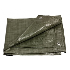 PE plachta zakrývací 2x8m 70g/1m2 zelená