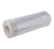 Páska maskovací samolepící s folií 110cmx30M