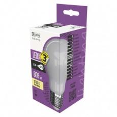 LED žárovka Filament mléčná A60 6,7W E27 teplá bílá