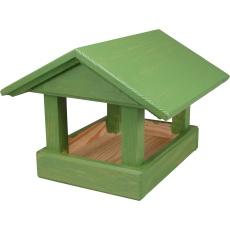 Krmítko pro venkovní ptactvo - č. 13, malé zelené