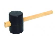 Palice gumová 55mm 31cm dřevo