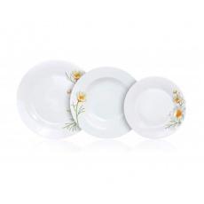 BANQUET Sada talířů DAISY, 18 ks
