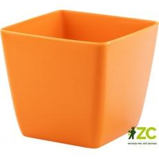 Obal Hyacint - oranžový 8x8 cm