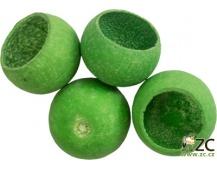 Dekorace - Bell cup 4-5 cm - jablkově zelený 4 ks
