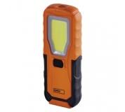 COB LED + LED pracovní svítilna P4110, 280 lm, 4× AA
