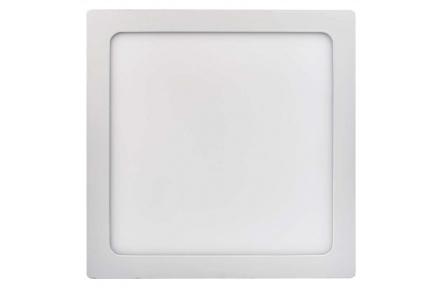 LED panel 300×300, čtvercový přisazený bílý, 24W neutr. bílá