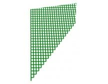 Zeleně lakovaná ocel síť 1Mx30M