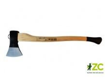 Sekera 1250 g černá - dřevěná násada 70 cm