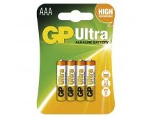 Alkalická baterie GP Ultra LR03 (AAA) - 4ks