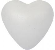 Srdíčko polystyren - 8 cm