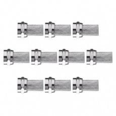 Konektor F vidlice pro koax CB50, CB100 - 10ks