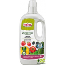 Substral tekutý Performance Organics - ovoce a zelenina 1 l EVERGREEN