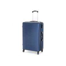 PRETTY UP Kufr na kolečkách ABS03, velký, modrý