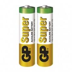 Alkalická baterie GP Super AA (LR6) - 2ks