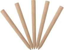 Kolík do hrabí náhradní dřevěný - 5 ks