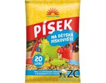 Písek na dětská pískoviště - 20 l (cena bez slev)