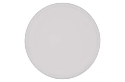 LED přisazené svítidlo, kruh stříbrná 17W teplá bílá