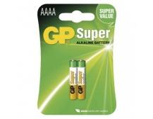 Alkalická speciální baterie GP 25A (AAAA, LR61) 1,5 V - 2ks
