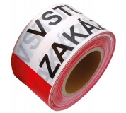 Varovací páska 80mm x 250M VSTUP ZAKÁZÁN