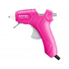 Pistole tavná lepící pr. 7,2mm 25W růžová