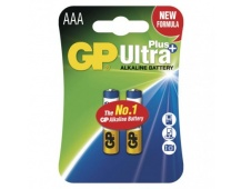 Alkalická baterie GP Ultra Plus AAA (LR03) - 2ks