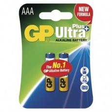 Alkalická baterie GP Ultra Plus AAA (LR03) - 2ks