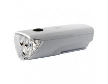 LED přední svítilna na kolo P3914 na 3× AAA, 25 lm
